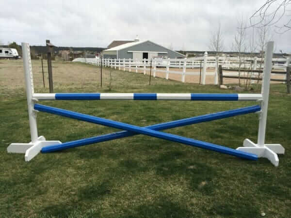 how to build horse jumps at home