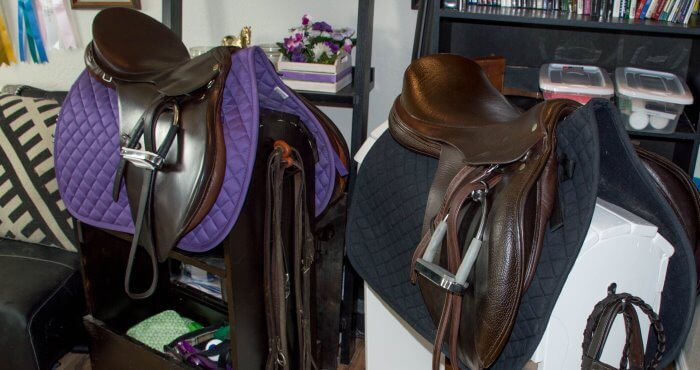 cleaning your tack the budget way